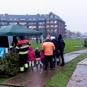 Kerstboom verbranding Heemskerk